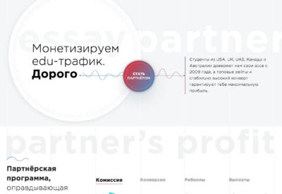 Партнерская программа EssayPartner