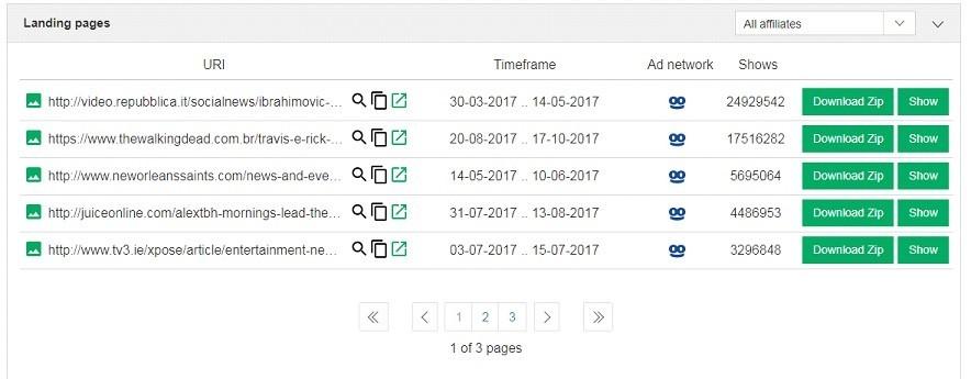 SpyOver - сервис для агрегирования и анализа нативной рекламы