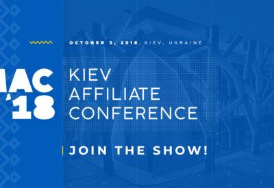 До MAC Kiev Affiliate Conference осталось несколько недель!