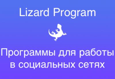 Продвижение в социальных сетях от Lizard