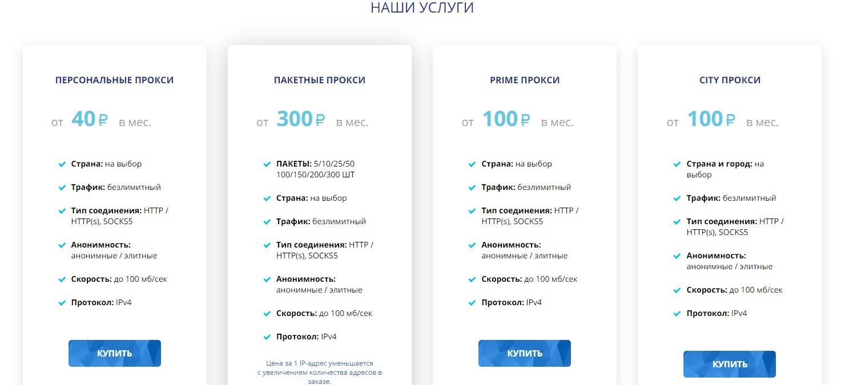 Обзор Proxy-Solutions